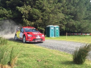 Bird and Davies storming to victory on Nicky Grist Stages