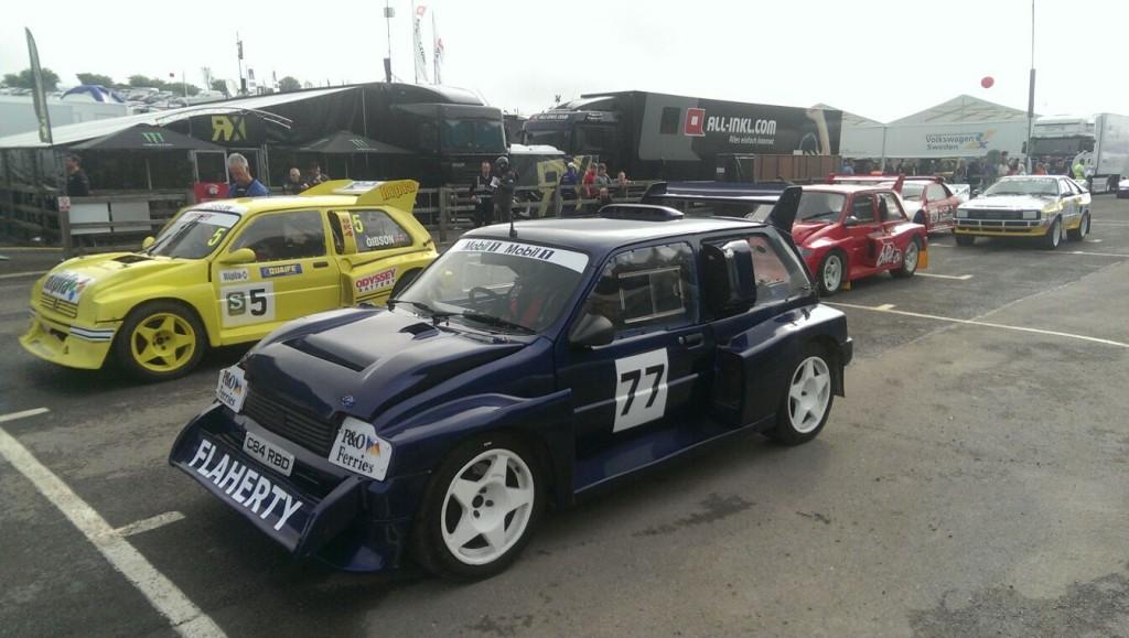 Mark Flaherty - Lydden Hill Retro RallyCross